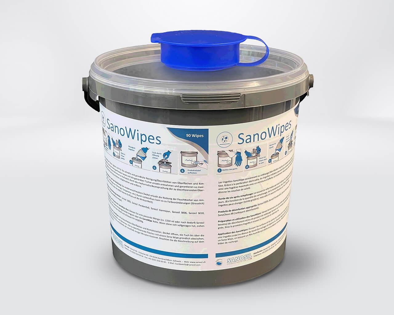 Sano-Wipes Big Box Spender