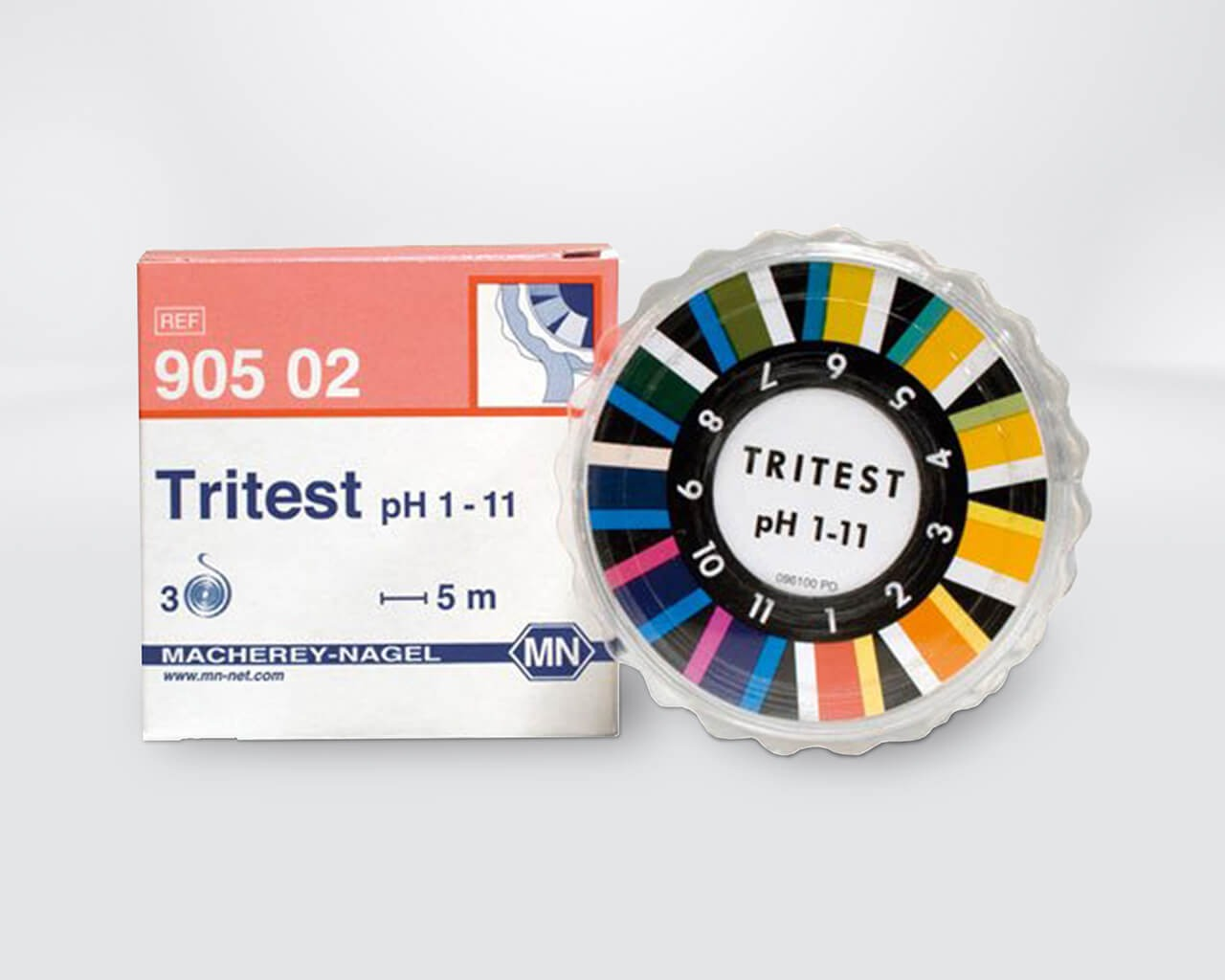 Sanosil Indikatorpapier Tritest