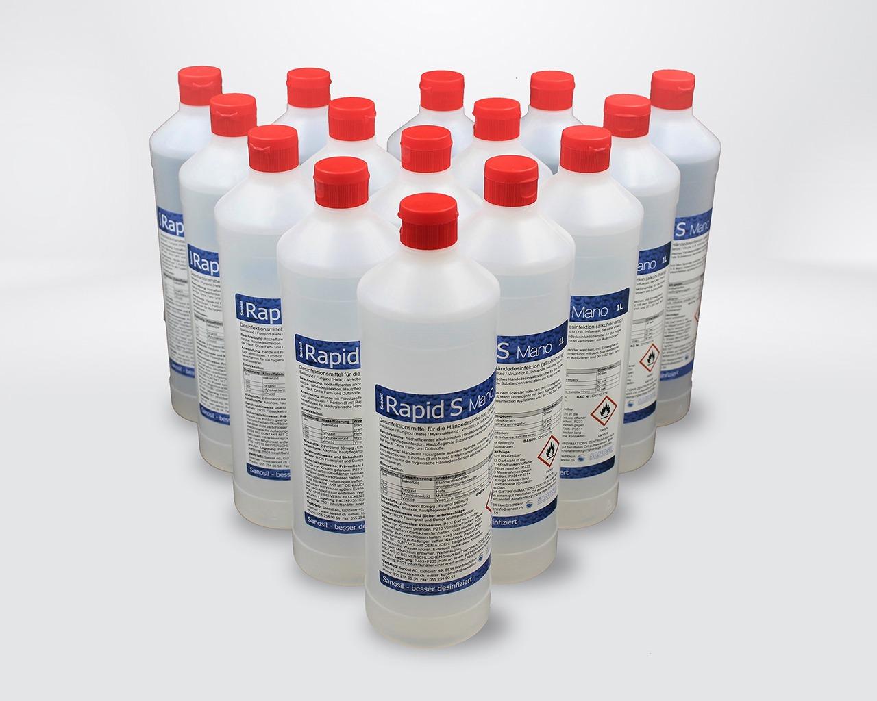 RapidS Mano Universalflasche 15 x 1L