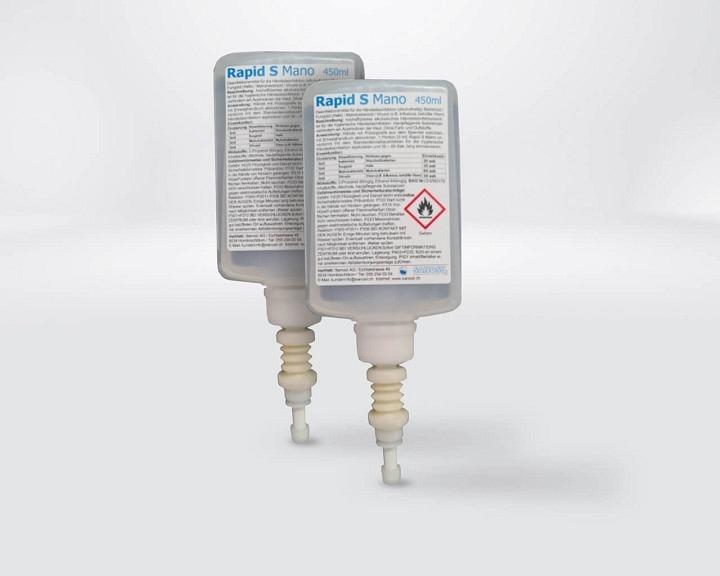 RapidS Mano Handdesinfektionsmittel 2x450ml